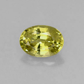Buy 1.24 ct Yellowish Green Mali Garnet 7.59 mm x 5.5 mm from GemSelect (Product ID: 254146)