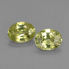 Buy 2.16 ct Yellowish Green Mali Garnet 7.29 mm x 5.6 mm from GemSelect (Product ID: 254957)