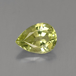 Buy 1.29 ct Yellowish Green Mali Garnet 8.06 mm x 6 mm from GemSelect (Product ID: 255685)