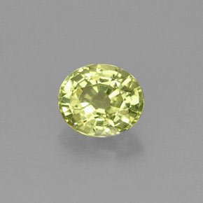 Buy 1.24 ct Yellowish Green Mali Garnet 6.94 mm x 5.9 mm from GemSelect (Product ID: 257746)