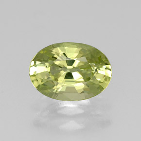 Buy 1.05 ct Yellowish Green Mali Garnet 7.42 mm x 5.2 mm from GemSelect (Product ID: 305749)