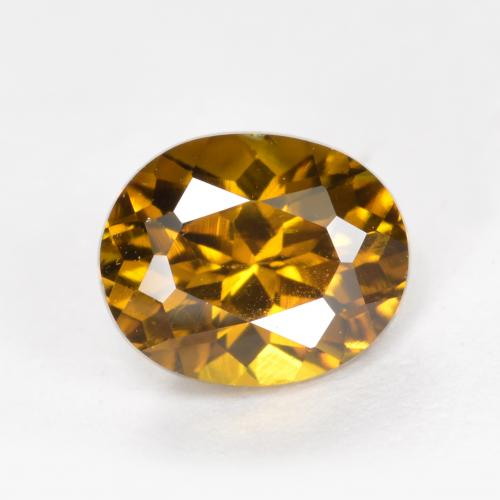 Medium Brown Mali Granate Gema - 1.3ct Forma ovalada (ID: 377075)