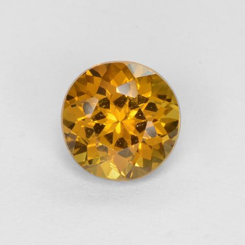 Buy 0.73 ct Greenish Golden Mali Garnet 5.28 mm  from GemSelect (Product ID: 378892)