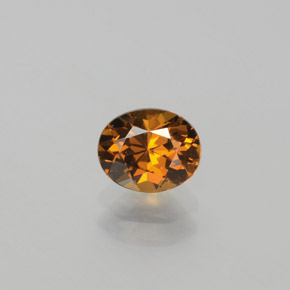 Light Brownish Orange Mali Granate Gema - 0.9ct Forma ovalada (ID: 382204)