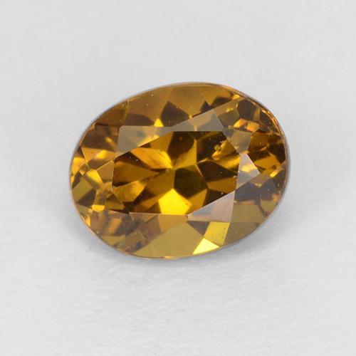Mali Garnet Oval Faceted Gemstone 1pc 5x7mm