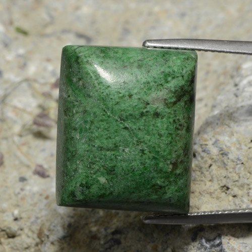 thumb image of 34.2ct Baguette Cabochon Green Maw-Sit-Sit (ID: 476875)