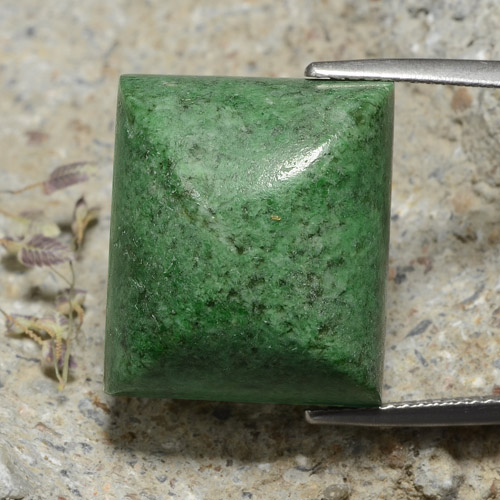 thumb image of 33.1ct Baguette Sugarloaf Cabochon Green Maw-Sit-Sit (ID: 476878)