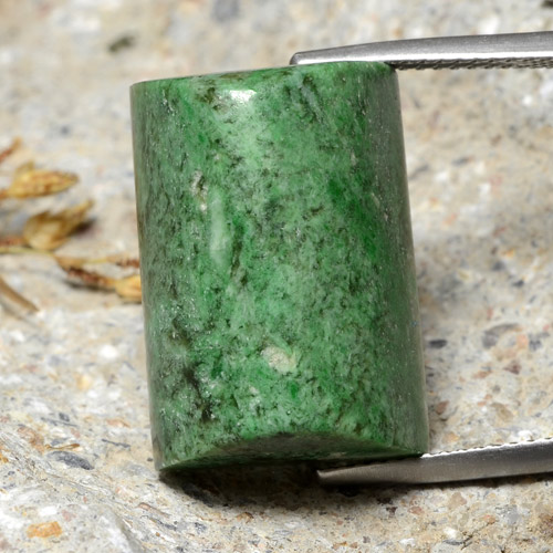 thumb image of 31.1ct Baguette Sugarloaf Cabochon Green Maw-Sit-Sit (ID: 476982)