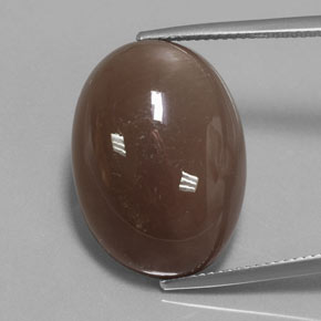 Smoke Moonstone Gem - 23ct Oval Cabochon (ID: 359626)
