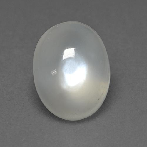 White Moonstone Gem - 1.7ct Oval Cabochon (ID: 526570)