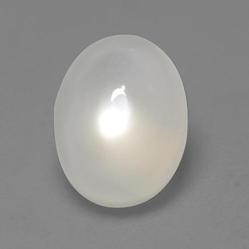 Off White Moonstone Gem - 2.1ct Oval Cabochon (ID: 527641)