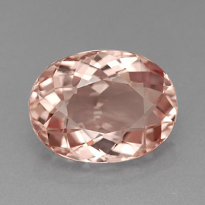 Morganite 2 6 Carat Oval From Afghanistan Natural And