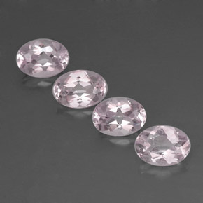 Buy 3.04 ct Light Pink Morganite 7.11 mm x 5.1 mm from GemSelect (Product ID: 319495)