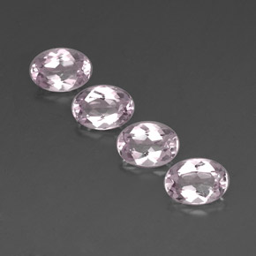 Buy 3.11 ct Light Pink Morganite 7.16 mm x 5.1 mm from GemSelect (Product ID: 319998)