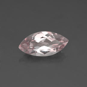 Buy 0.96ct Light Pink Morganite 10.15mm x 4.96mm from GemSelect (Product ID: 320287)