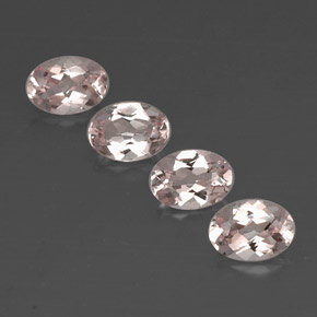 Buy 2.84 ct Light Pink Morganite 7.07 mm x 5.1 mm from GemSelect (Product ID: 320737)