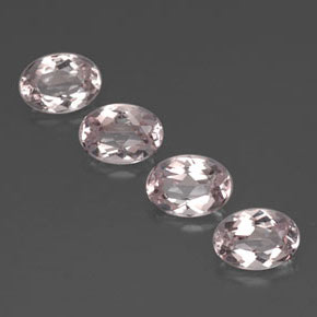 Buy 3.18 ct Light Pink Morganite 7.13 mm x 5.2 mm from GemSelect (Product ID: 320738)