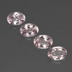 Buy 3.08 ct Light Pink Morganite 7.04 mm x 5.1 mm from GemSelect (Product ID: 320739)
