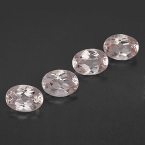 Buy 3.34 ct Light Pink Morganite 7.13 mm x 5.2 mm from GemSelect (Product ID: 321453)