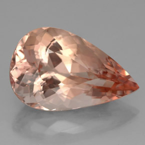 Buy 8.51 ct Salmon Morganite 17.73 mm x 11.3 mm from GemSelect (Product ID: 326346)