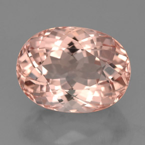 Morganite 4 1 Carat Oval From Afghanistan Natural And