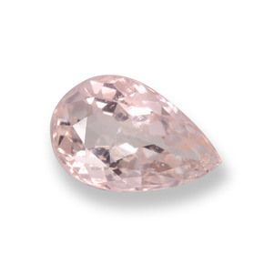 thumb image of 0.9ct Pear Facet Light Pink Morganite (ID: 458091)