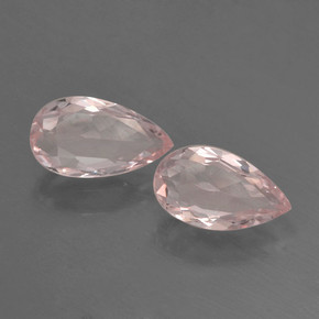 thumb image of 0.5ct Pear Facet Light Pink Morganite (ID: 460317)
