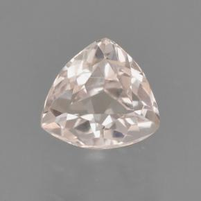 Medium-Light Pink Morganita Gema - 0.5ct Forma trillón (ID: 466892)