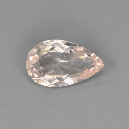 thumb image of 0.8ct Pear Facet Light Pink Morganite (ID: )