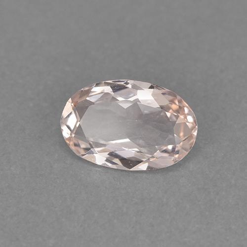 thumb image of 0.9ct Oval Facet Light Pink Morganite (ID: 473503)