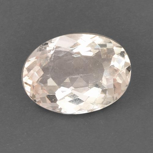 Medium-Light Pink Morganita Gema - 1.5ct Forma ovalada (ID: 519615)