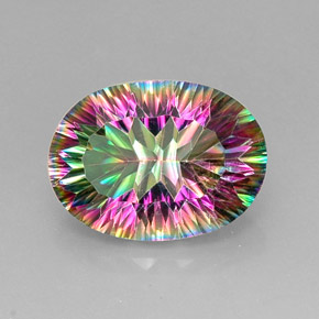 Buy 12.60 ct Top Rainbow Mystic Quartz 18.31 mm x 13.4 mm from GemSelect (Product ID: 233423)