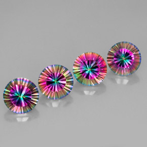 Buy 11.24 ct Top Rainbow Mystic Quartz 9.20 mm  from GemSelect (Product ID: 266779)