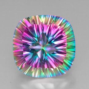 29 2 carat top rainbow mystic quartz gem from brazil