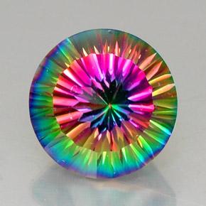 12 8 carat top rainbow mystic quartz gem from brazil