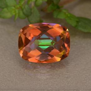 1.8ct Cushion Checkerboard Multicolor Mystic Quartz Gem (ID: 487544)