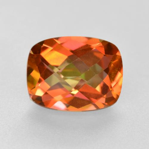 1.8ct Cushion Checkerboard Multicolor Mystic Quartz Gem (ID: 488075)