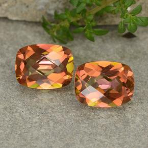 Multicolor Mystic Quartz Gem - 1.8ct Cushion Checkerboard (ID: 488204)