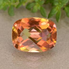 Multicolor Mystic Quartz Gem - 1.8ct Cushion Checkerboard (ID: 488359)