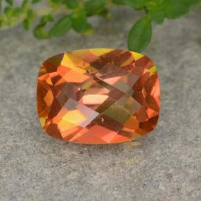 Multicolor Mystic Quartz Gem - 1.8ct Cushion Checkerboard (ID: 488522)