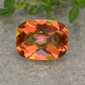 1.8ct Cushion Checkerboard Multicolor Mystic Quartz Gem (ID: 488523)