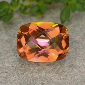1.8ct Cushion Checkerboard Multicolor Mystic Quartz Gem (ID: 488536)