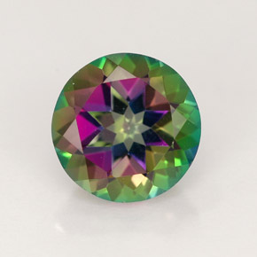 Buy 2.53 ct Multicolor Mystic Topaz 8.14 mm  from GemSelect (Product ID: 244802)
