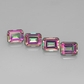Buy 17.38 ct Top Rainbow Mystic Topaz 9.92 mm x 8 mm from GemSelect (Product ID: 269073)