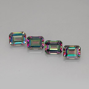 Buy 13.01ct Top Rainbow Mystic Topaz 9.02mm x 7.05mm from GemSelect (Product ID: 269080)