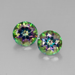 Buy 9.00ct Top Rainbow Mystic Topaz 10.02mm  from GemSelect (Product ID: 289320)