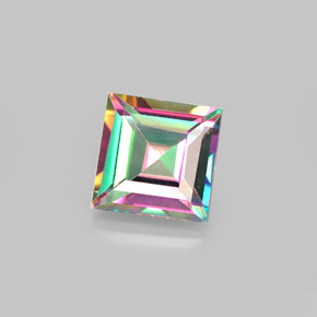 Buy 2.13 ct Top Rainbow Mystic Topaz 7.05 mm x 7 mm from GemSelect (Product ID: 292032)