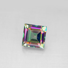 Buy 2.17ct Top Rainbow Mystic Topaz 6.96mm x 6.91mm from GemSelect (Product ID: 292042)