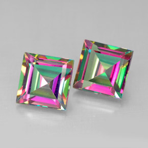 Buy 4.22 ct Top Rainbow Mystic Topaz 6.92 mm x 6.9 mm from GemSelect (Product ID: 292074)