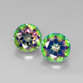 Buy 3.11 ct Top Rainbow Mystic Topaz 7.03 mm  from GemSelect (Product ID: 292096)